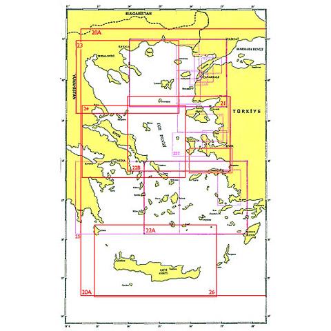 SHODB Seyir Haritası 20-A
