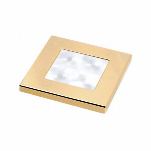 Hella Marine Slim Line Beyaz Ledli Lamba 12V - Altın Sarısı
