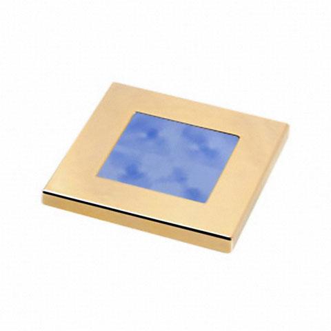 Hella Marine Slim Line Mavi Ledli Lamba 12V - Altın Sarısı