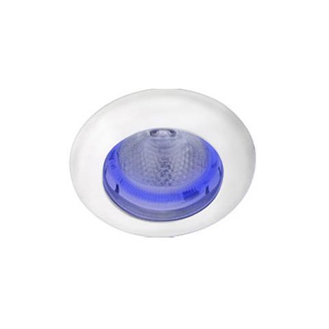 Hella Marine Ledli Spot - Mavi Ambians Halkalı - Beyaz