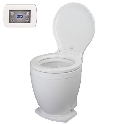 ITT Jabsco Lite Flush Elektrikli Tuvalet - Panel Kumandalı - 12V