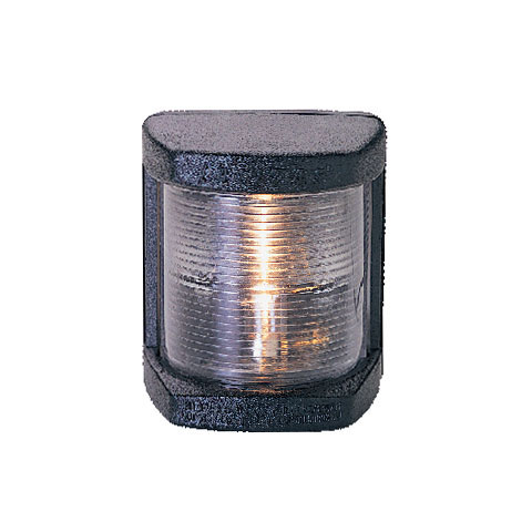 Lalizas N12 Seyir Feneri Siyah Polikarbon - Pruva - Beyaz
