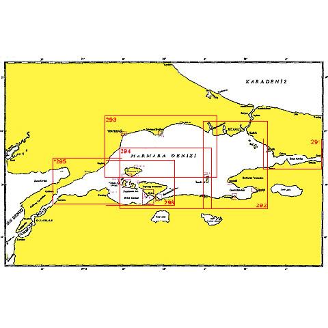 SHODB Seyir Haritası 291