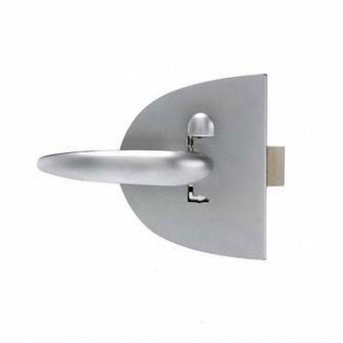 Southco Mobella Compact Clam Shell Menteşeli Kapı Kilidi - 12,7mm. Krom