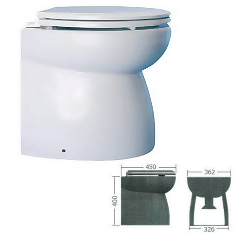 Osculati High Elegant Elektrikli WC 12V