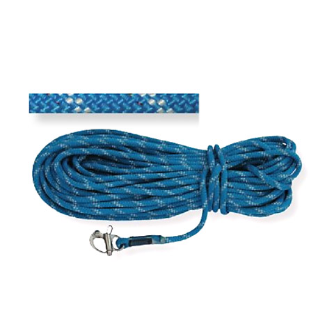 Polyropes IQLine Fockfall Genoa/Flok Mandar Halatı 10mm. Mavi - 35m. - Pelikan Kilitli