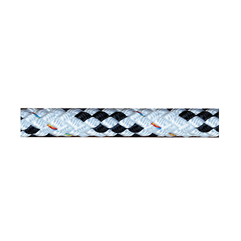 Polyropes IQLine Cruising Range Rullfockslina Roller Furling Sarma İpi 10mm. Beyaz-Siyah - 30m.