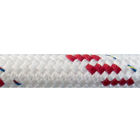 Polyropes Dyneemic Racer 3003 Iskota Halatı 14mm. Beyaz-Kırmızı
