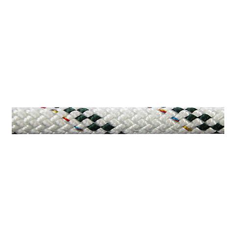 Polyropes Poly-Braid 24 Iskota Halatı 6mm. Beyaz-Yeşil