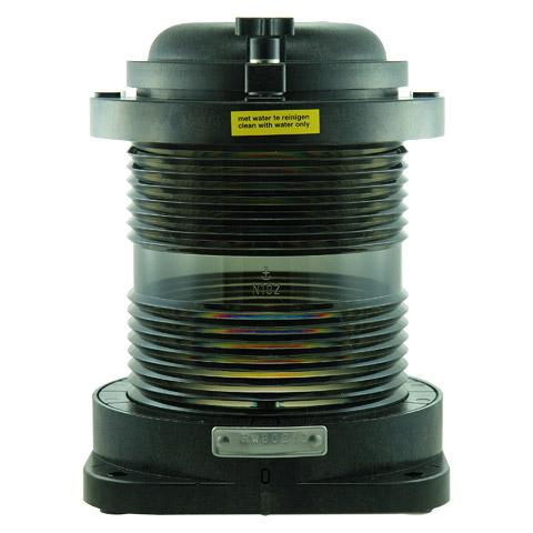 D.H.R. DHR55 Seyir Feneri Cam Elyaf Takviyeli Siyah Plastik - Demir - 360° Beyaz