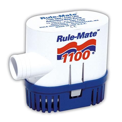 ITT Rule RM1100 Rule-Mate Sintine Pompası 1100 GPH 12V - Otomatik