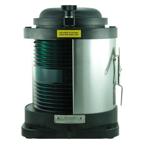 D.H.R. DHR55 Seyir Feneri Cam Elyaf Takviyeli Siyah Plastik - Sancak - Yeşil