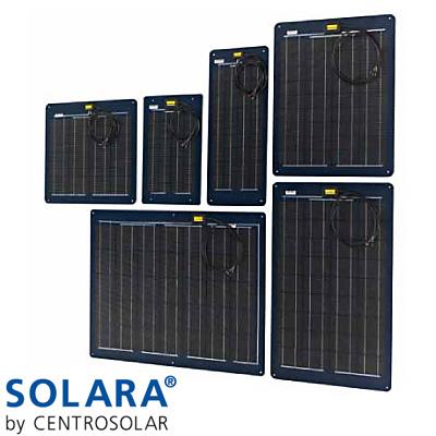 34 WP Solara Güneş Paneli 590 x 490 x 2 mm