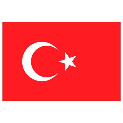 Alsancak Bayrak - Türkiye - 100x150cm.