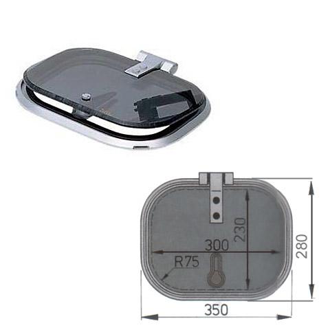 Vetus Planus PLA30 Hatch 350x280mm. - Alüminyum