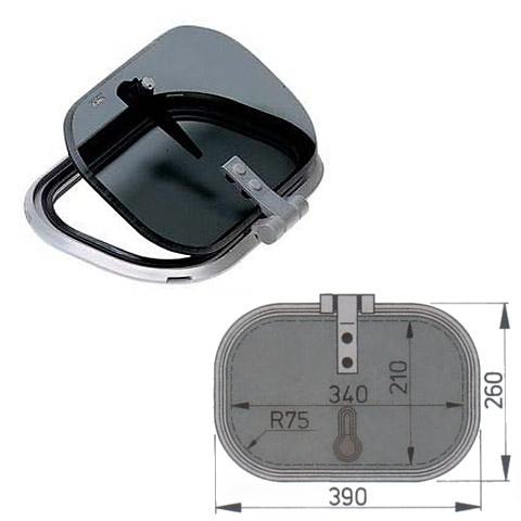 Vetus Planus PLA34 Hatch 390x260mm. - Alüminyum