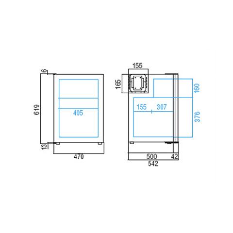 Vitrifigo C90i Buzdolabı