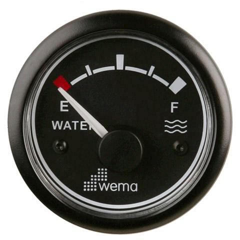 Wema IPWR Su Tankı Seviye Göstergesi - Siyah
