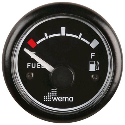 Wema IPFR Yakıt Tankı Seviye Göstergesi - Siyah