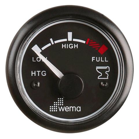 Wema HTGU Pis Su Tankı Seviye Göstergesi - Siyah