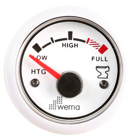 Wema HTGU Pis Su Tankı Seviye Göstergesi - Beyaz