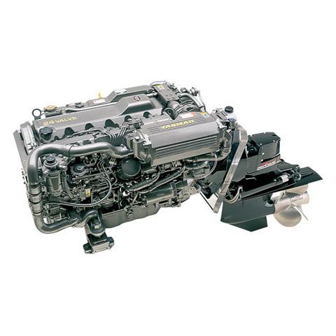 Yanmar Dizel Deniz Motoru 315 Hp Hidrolik Şanzıman Kuyruklu