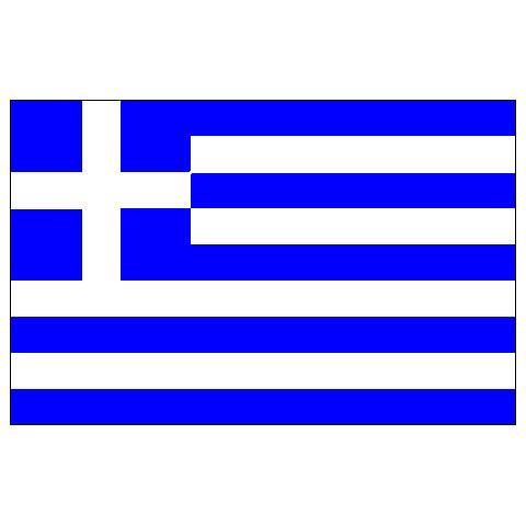 Alsancak Bayrak - Yunanistan - 30x45cm