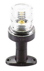 AAA 00120 Çıpa Feneri Siyah Polikarbon 12V - Beyaz