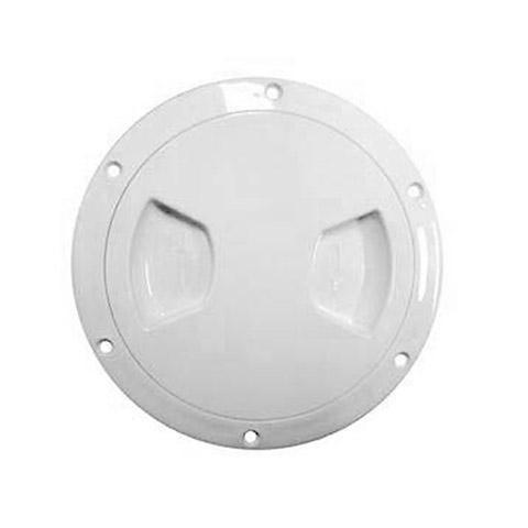 AAA Plastik Kontrol Kapağı - Beyaz - Ø=127mm.