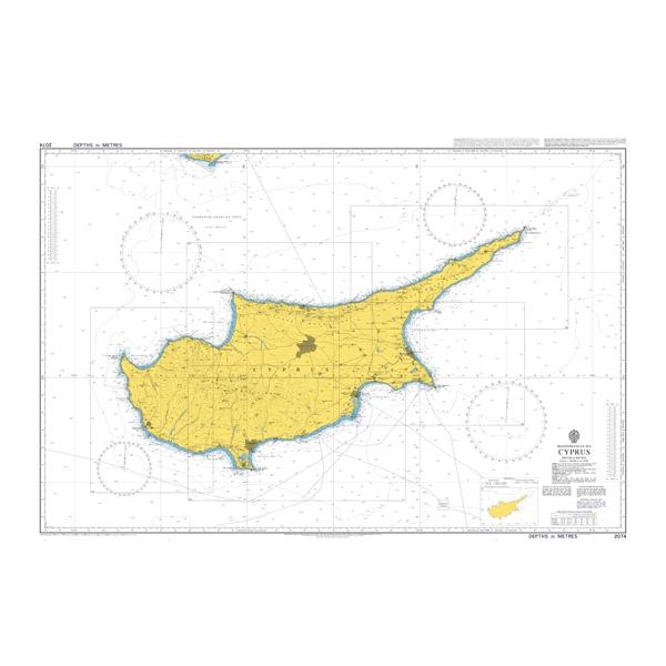 Admiralty Seyir Haritası 2074