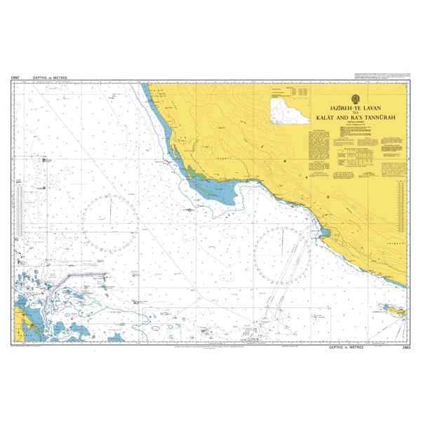 Admiralty Seyir Haritası 2883