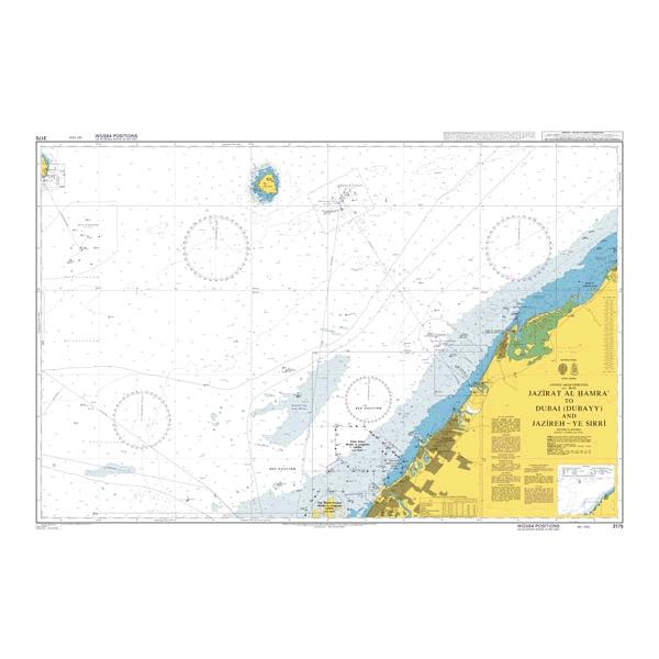 Admiralty Seyir Haritası 3175
