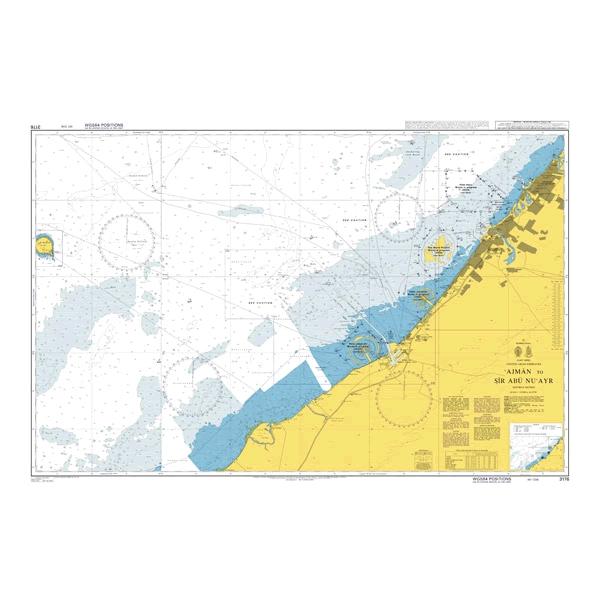 Admiralty Seyir Haritası 3176