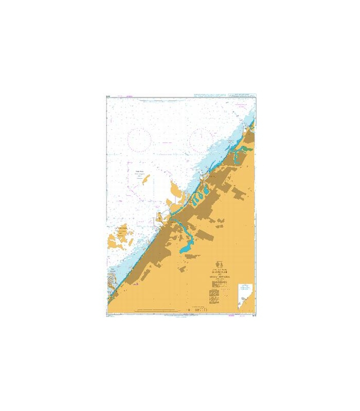 Admiralty Seyir Haritası 3412