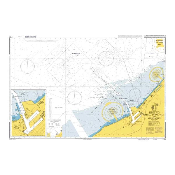 Admiralty Seyir Haritası 3739
