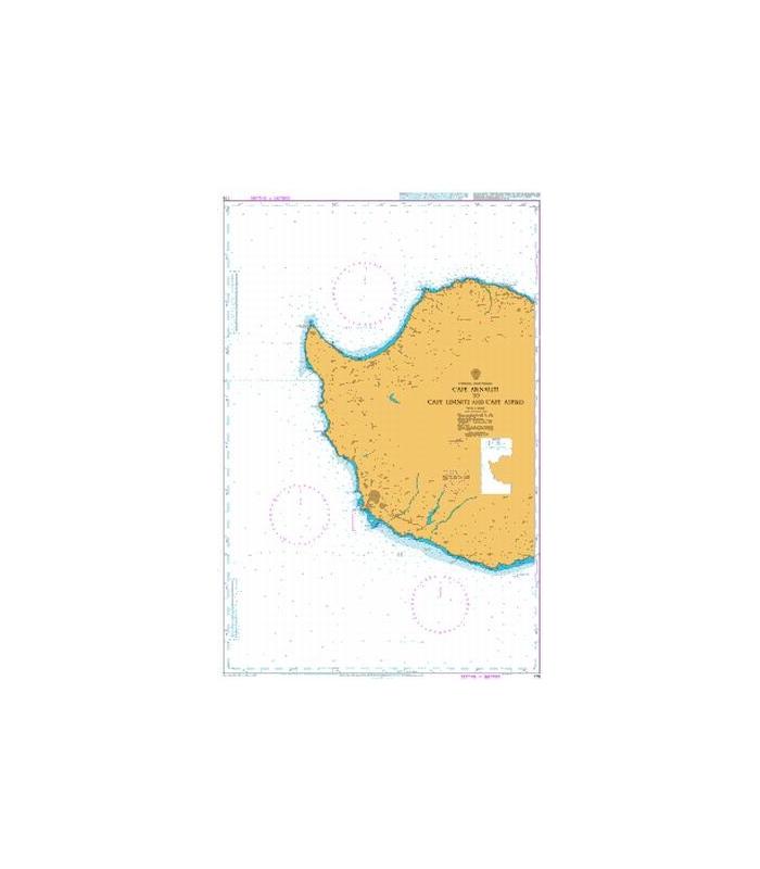 Admiralty Seyir Haritası 775
