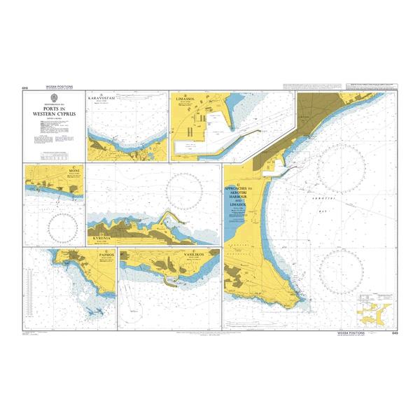 Admiralty Seyir Haritası 849