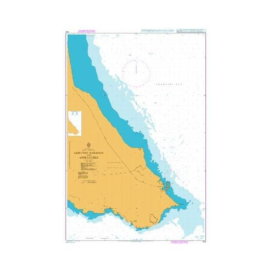 Admiralty Seyir Haritası 852