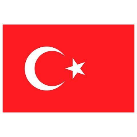 Alsancak Bayrak - Türkiye - 120x180cm.