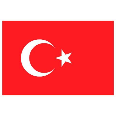 Alsancak Bayrak - Türkiye - 60x90cm.