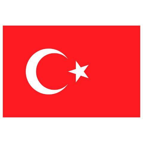 Alsancak Bayrak - Türkiye - 80x120cm.