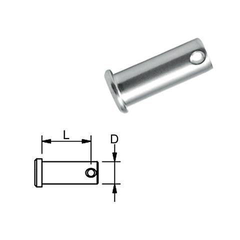 Blue Wave Pin 21x8,0mm. - AISI 316 Paslanmaz Çelik