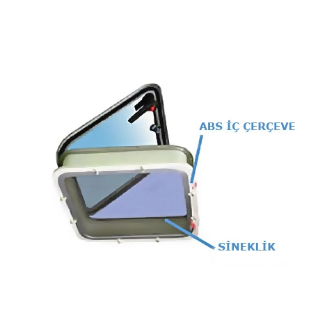 Bofor Classic HTC-60 Hatch İç Çerçevesi - ABS