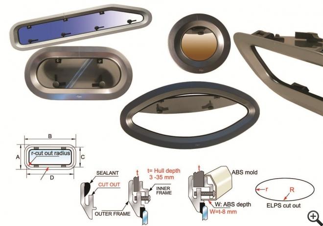 Bofor OVL-2 Çektirme Lomboz 200x400mm. - Alüminyum