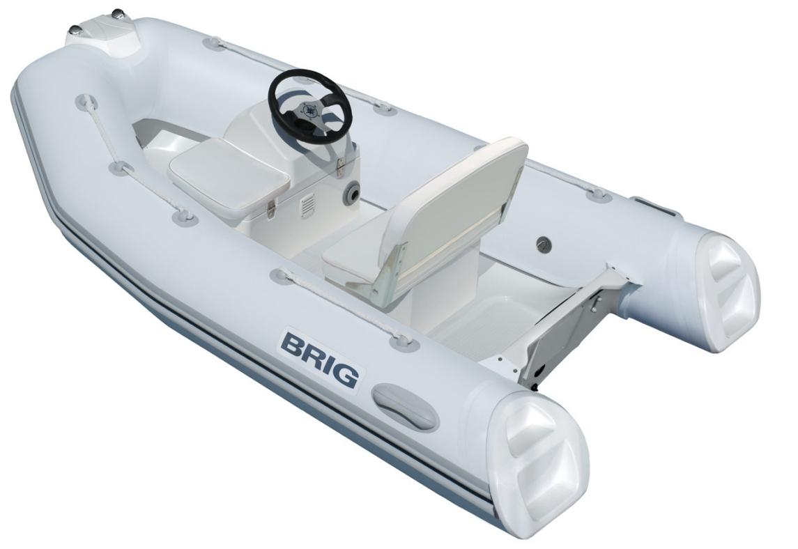 Brig Falcon F330T Fiber Tabanlı Konsollu Şişme Bot