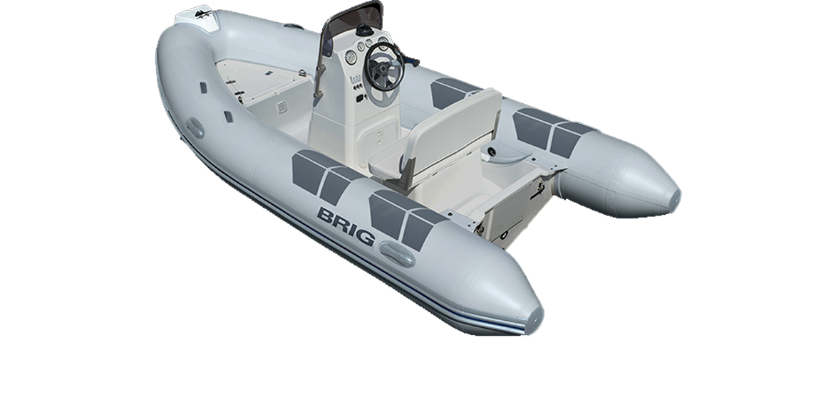 Brig Falcon F400HL Fiber Tabanlı Konsollu Şişme Bot
