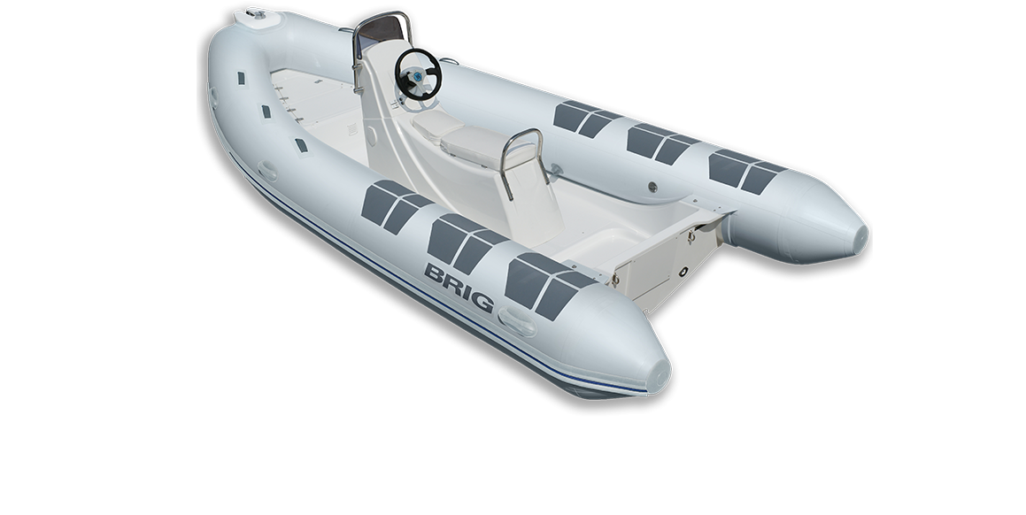 Brig Falcon F500S Fiber Tabanlı Konsollu Şişme Bot