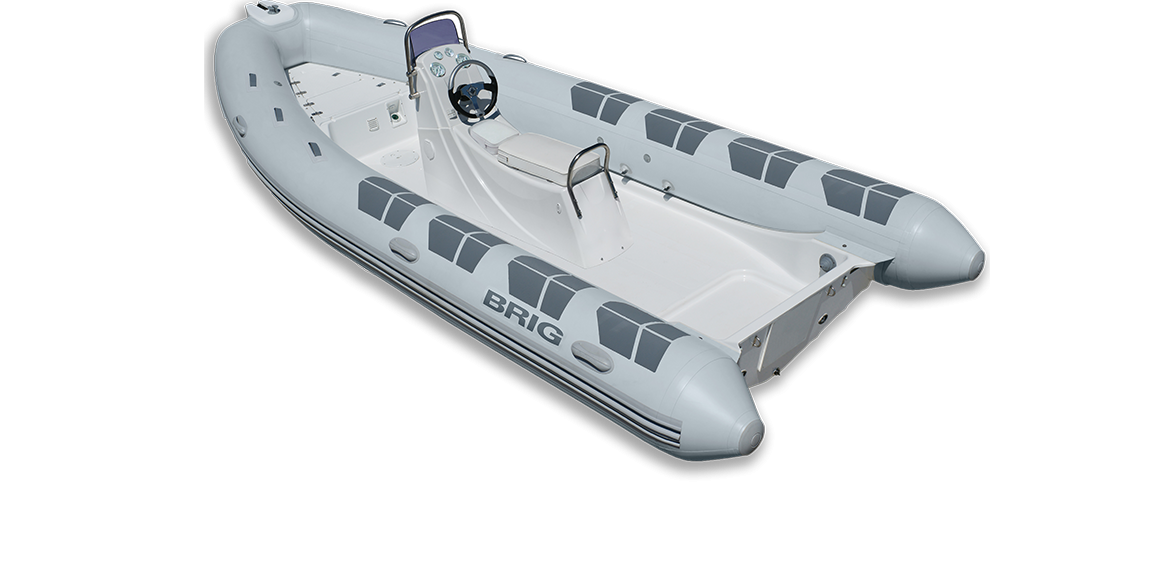 Brig Falcon F570HS Fiber Tabanlı Konsollu Şişme Bot