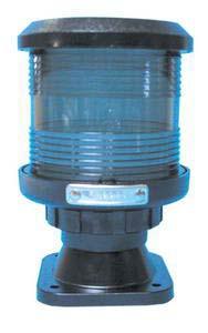 D.H.R. DHR35 Seyir Feneri Cam Elyaf Takviyeli Siyah Plastik - 360° - Yeşil