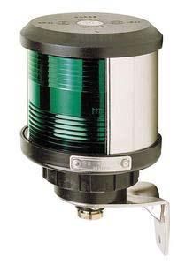D.H.R. DHR35 Seyir Feneri Cam Elyaf Takviyeli Siyah Plastik - Pruva - Beyaz
